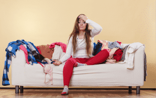 Decluttering your home how your brain is working against you